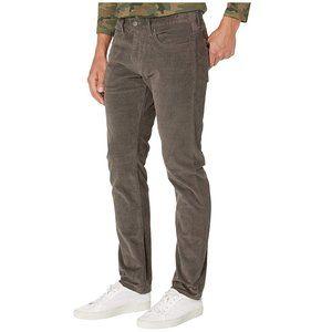 J Crew Grey/Brown 484 Slim Fit Corduroy Pants